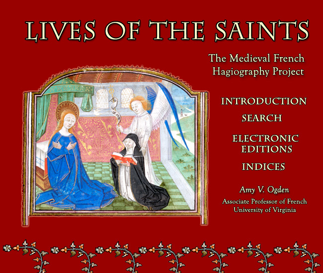 Lives of the Saints Introduction